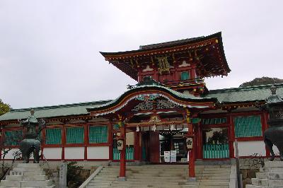 日本最初の天満宮@防府天満宮☆2005年2月12日