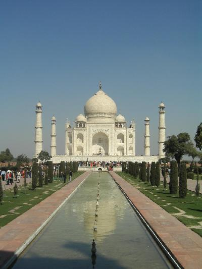 India 6(タージマハル)