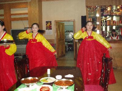 北朝鮮レストラン 柳京飯店に行きました