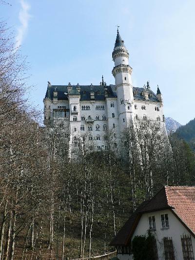 ヨーロッパ4ヶ国の旅【4】 白亜の美城 ドイツ・ノイシュバンシュタイン城