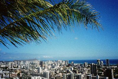 初ハワイ。