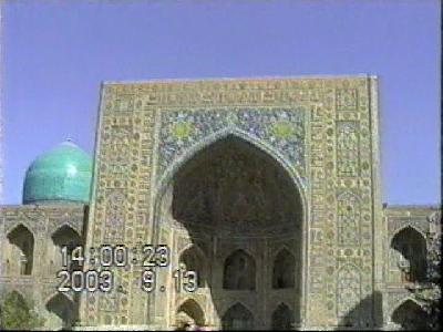 ウズベキスタンの旅【3】  オリエントの真珠 サマルカンド