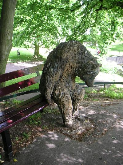 マーストリヒトの愉快な銅像たち