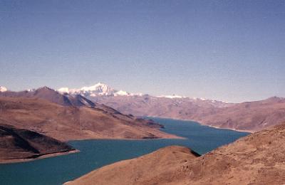 チベットに憧れて ?トルコ石の湖