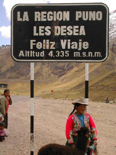 ペルー・ボリビア(クスコからプーノへ)