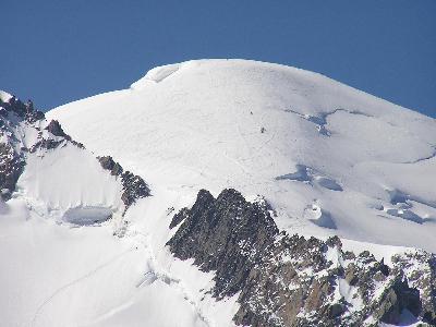 スイスアルプスの山々についての印象 その?モン・ブラン