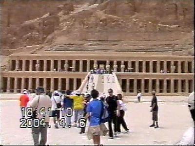 エジプトの旅【5】 不幸なテロの対策を考える「ハトシェプト女王葬祭殿」 ルクソール