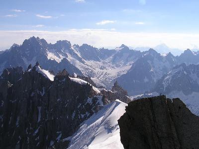 スイスアルプスの山々についての印象 その?エギーユ・デュ・ミディ