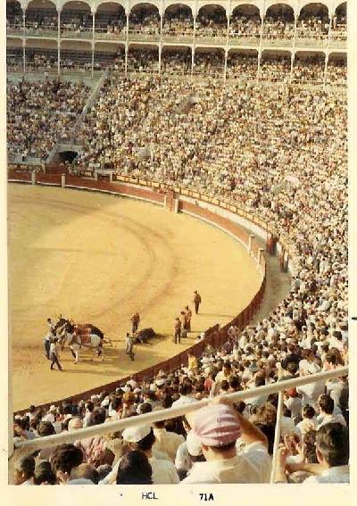 スペインの旅【11】  闘牛の感動を思い起こす マドリッド