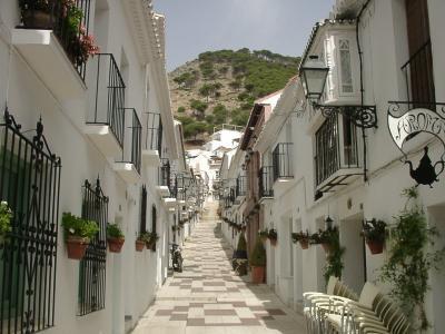 スペイン ミハス - 白い街の代表