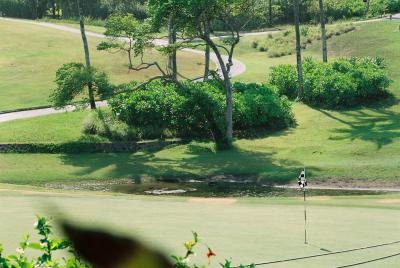 バリでゴルフ