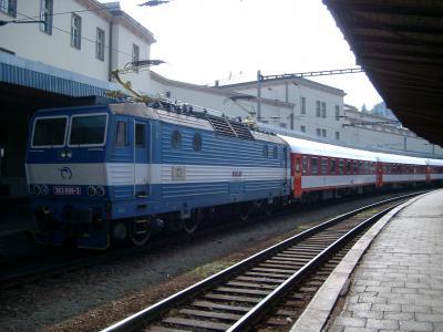 列車-ブラティスラバ駅