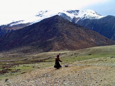 チベット大横断10 素晴らしい景色と苦難の道3