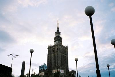 2005年夏のプラハ・ポーランド旅行20日間 その19(続き) ワルシャワっ子には不人気の文化科学宮殿