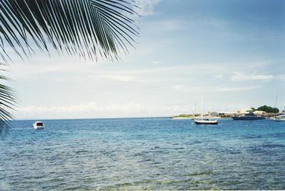 ガダルカナル島にてダイビング