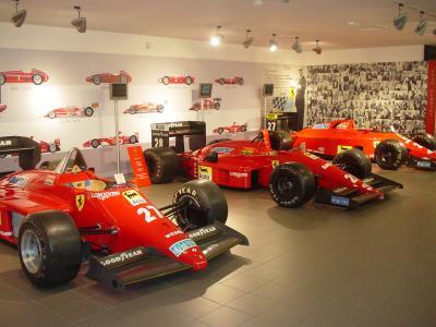 マラネロのフェラーリ博物館見学