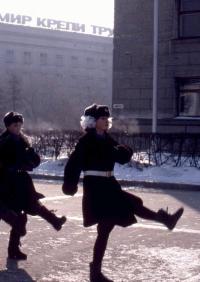 1988年のヨーロッパ、その1、ロシア(ソヴィエト連邦)編 (ハバロフスク〜シベリア鉄道の旅)