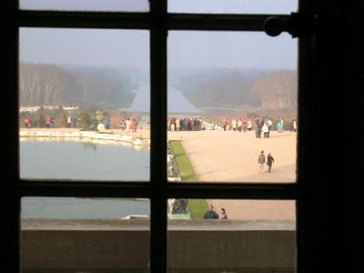 大晦日のヴェルサイユ宮殿