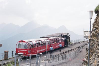 2001年7月スイスの旅【4】 ブリエンツ・ロートホルン