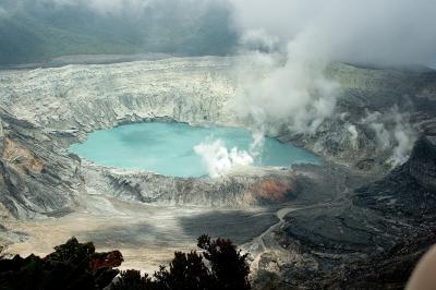 中米7カ国縦断?ポアス火山国立公園