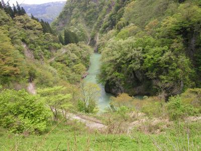 2002年4月27日五箇山・荘川桜 その1(相倉)