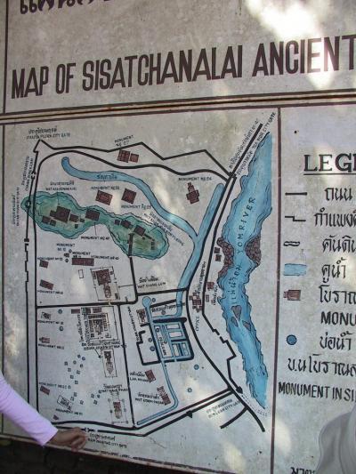 タイ、カンボジア遺跡巡り?シーサッチャラナイ