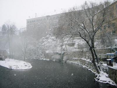 歴史ある街、チェスキークルムロフ