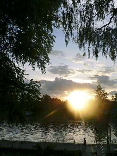 アジア・バックパッカーの旅【10】 タイ・カンチャナブリの朝日と夕日