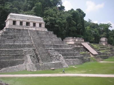 チリ・メキシコ旅行(メキシコ・Palenque編)