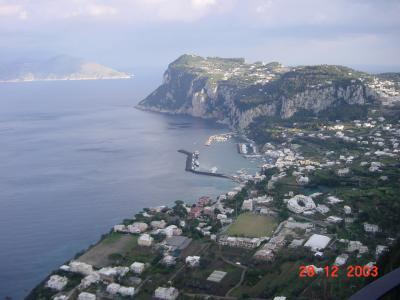 カプリ島と青の洞窟