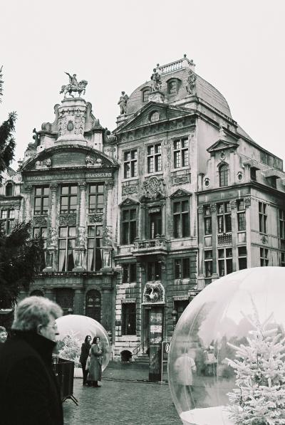 モナリザのモノクロの旅 (ブリュッセル)