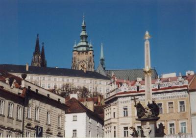 ビザが必要なチェコ時代のプラハ