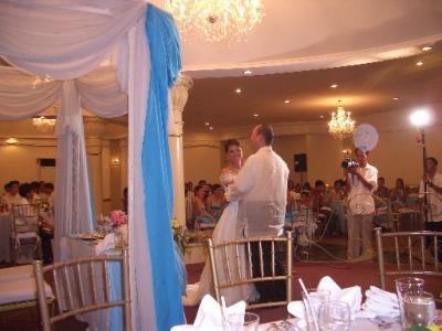 フィリピンで友人の結婚式(3/6結婚披露パーティ編)
