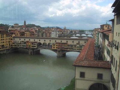 【イタリア】フィレンツェ?−ヴェッキオ橋へ