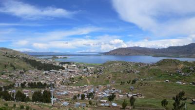 ペルー旅行(チチカカ湖)