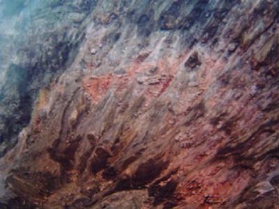 阿蘇の旅 阿蘇山へ― カルデラの噴煙