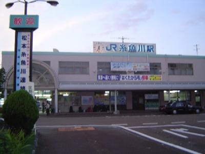 新潟の旅 日本海の旅―北陸本線で糸魚川