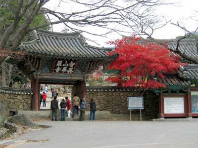 2004年韓国国立公園と古寺巡り(8)智異山国立公園華厳寺
