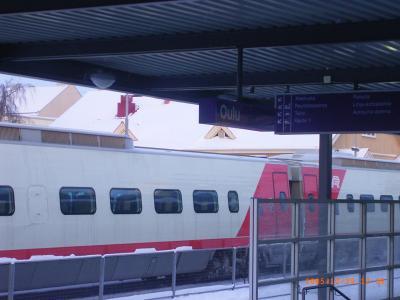 ロヴァニエミ→ヘルシンキ列車移動
