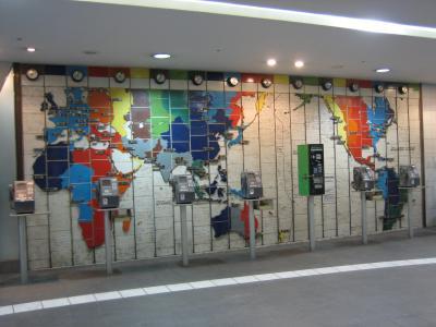 2006年03月、世界時刻帯図(関内)