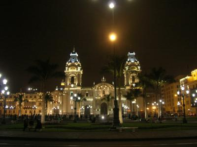 ペルー・リマ−新旧混ざる海岸の街ホームステイ記