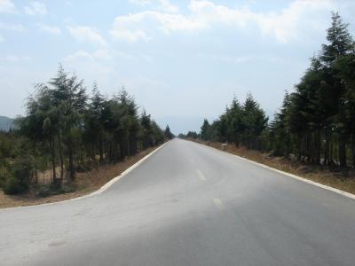 白沙(Bai Sha)への遠い道のり