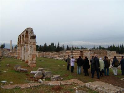 レバノンの旅 ~Nakhal Tourでアンジャルへ~