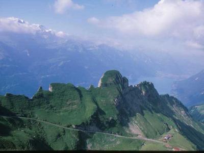 2002年スイスの旅(1)ブリエンツ・ロートホルン