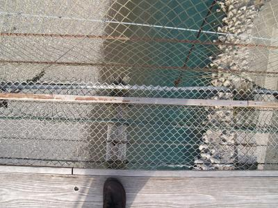 谷背の吊橋に行ってきました。