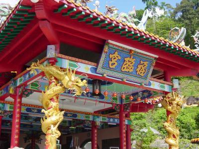 マレーシア パンコール島の中国寺