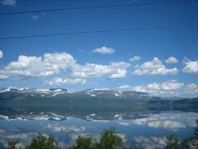 夏の北欧・北極圏(2) Norrlandståget ストックホルムからナルヴィクまで