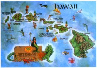 憧れのハワイ空路