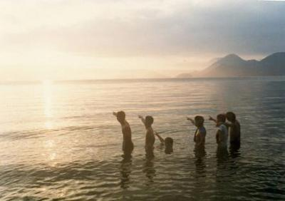 洞爺湖でペアラン(夏の北海道サークルラン?)