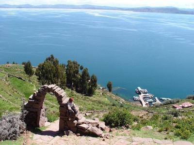 2006年ペルー・ボリビア・チリ旅行 7日目 チチカカ湖 -LAGO TITICACA-